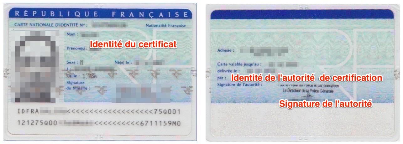 qu est ce que l autorité de délivrance carte d identité Les certificats sur Mac – iSystem