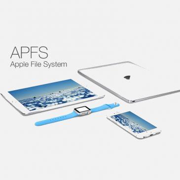 Le système de fichiers APFS