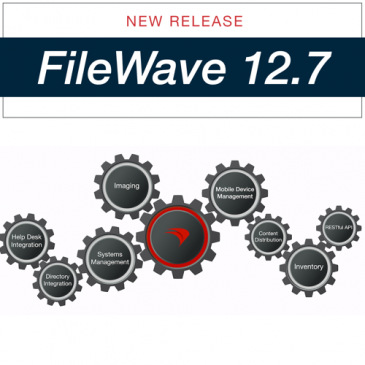 Sortie de Filewave 12.7