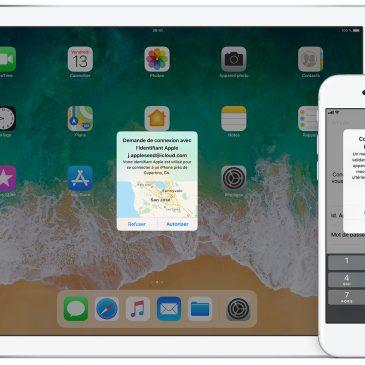 Les systèmes d'authentification Apple