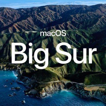 Big Sur, le futur système du Mac