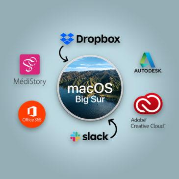 Quelles sont les applications compatibles macOS Big Sur ?
